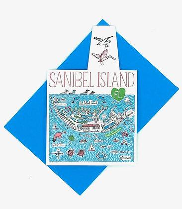 Sanibel Folded Notecard