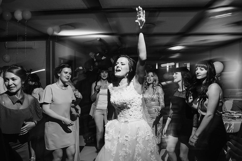свадьба, веселье, безлюдный