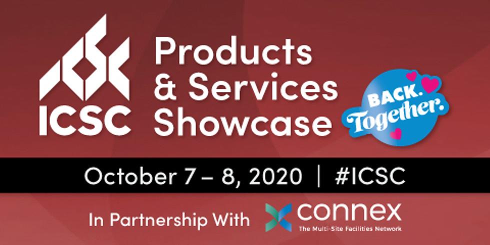 ICSC/Connex Products & Services Showcase
