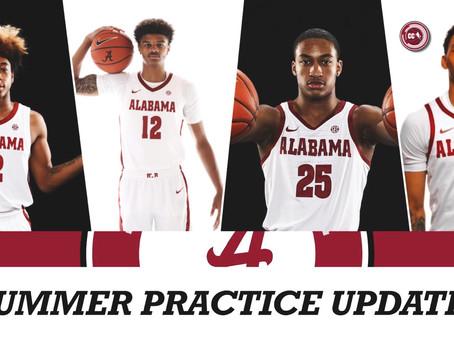 Alabama Basketball Summer Practice Update
