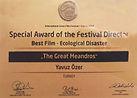 Krakow Green Film Festival Special Award
