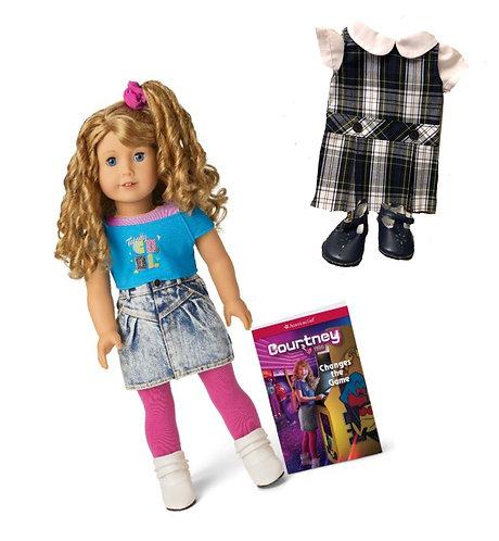 American Girl Doll: Courtney Doll with SJS Uniform