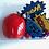 Thumbnail: Small Play Dough Sensory Bundle: Super Hero and Christmas kits