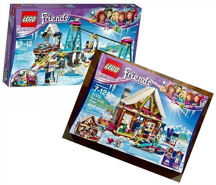LEGO Friends Snow Resort Ski Lift and Chalet