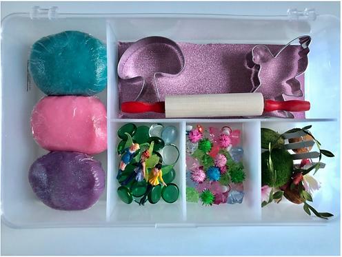 Fairy Large Play Dough Sensory kit