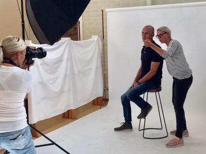 Bommel-Art in actie als schoolfotograaf