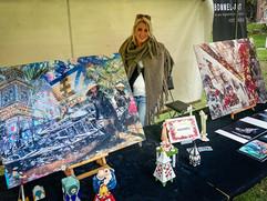 Bommel-Art schitterde op Kunstival