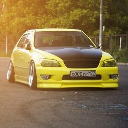 Wald Front lip  For Lexus IS200 Altezza