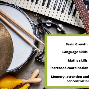 The benefits of playing a musical instrument.
