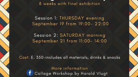 Collage Workshops Beginning in September
