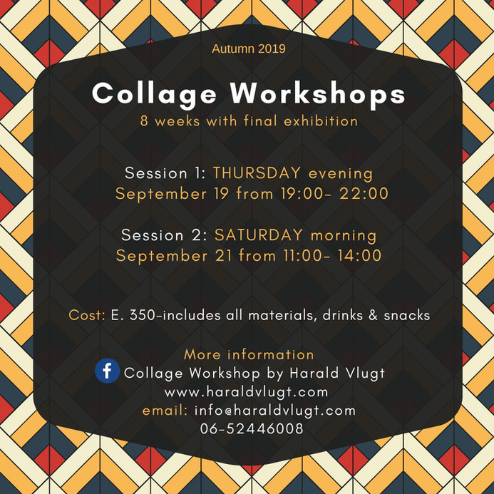 Collage Workshops Beginning in September