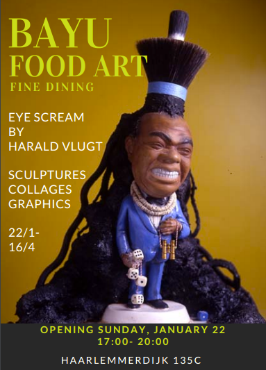 EYE SCREAM Exhibition through May 1st