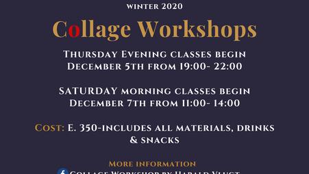 Winter Collage Workshops