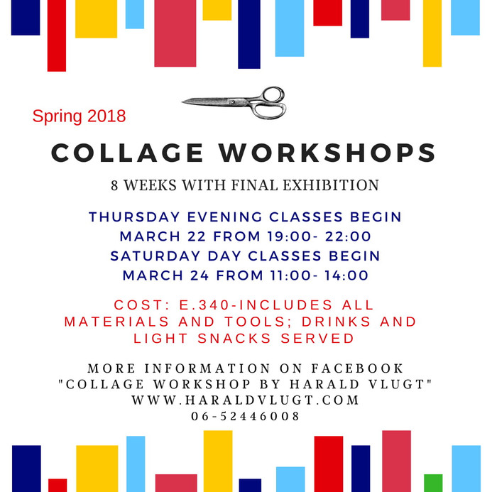Announcing Spring Collage Workshops