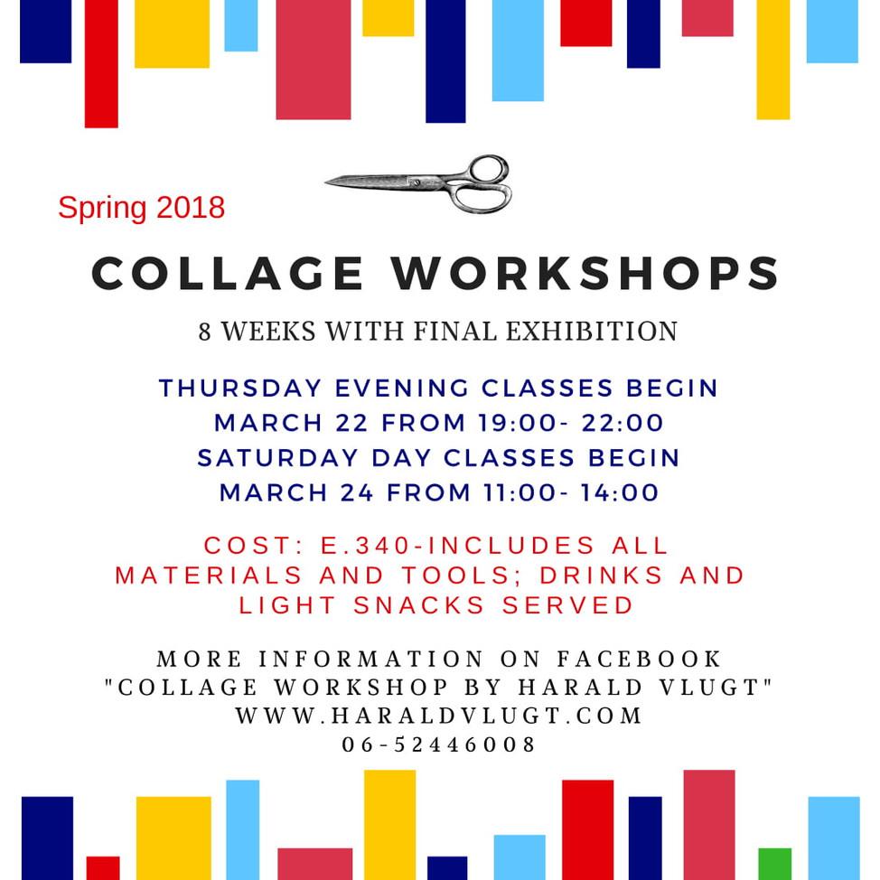 Announcing Spring Collage Workshops