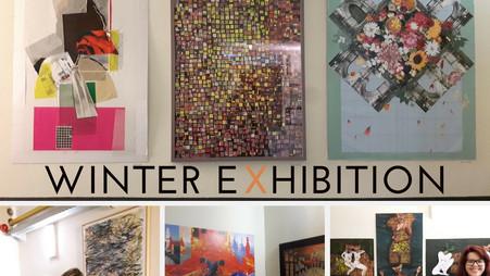 Collage Workshop Exhibition