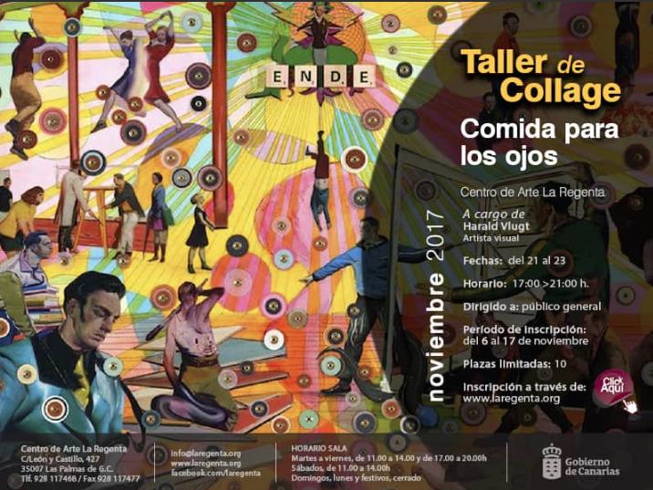 Collage Workshop, La Regenta Arte Center