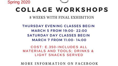 Spring Workshops Begin March 5 &7th