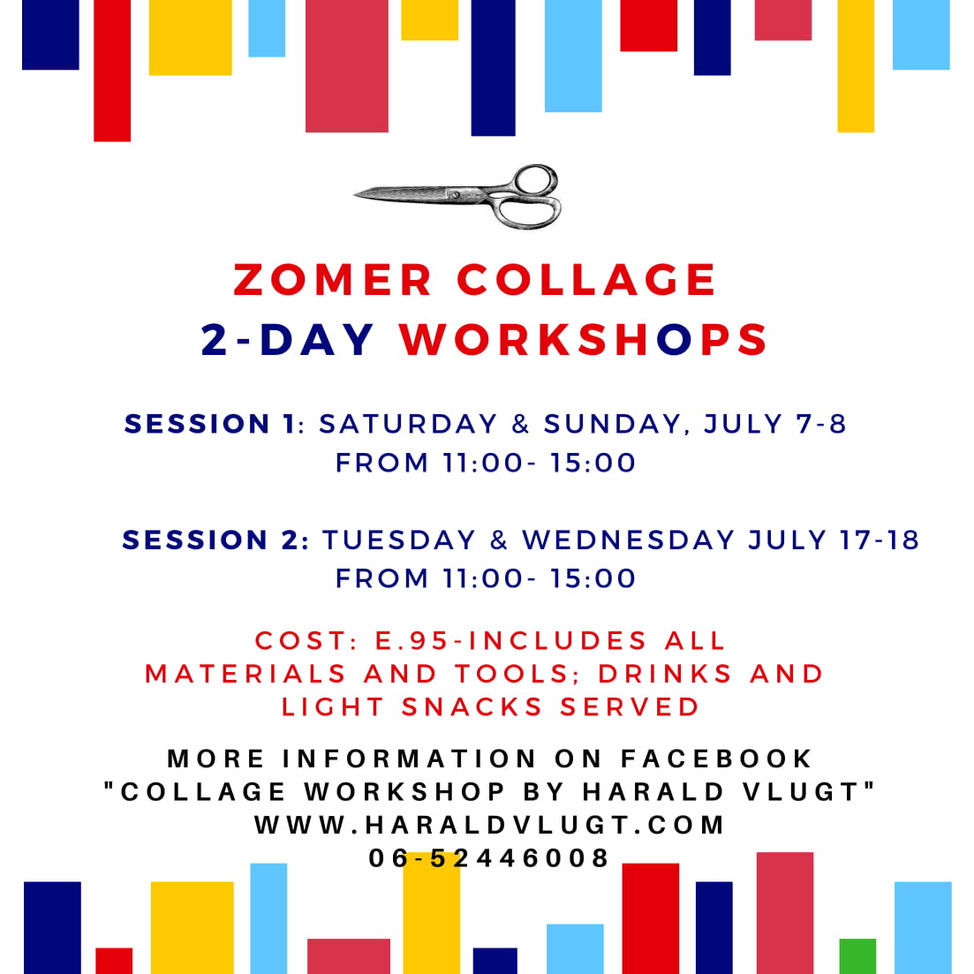 Zomer 2-Day Collage Workshops