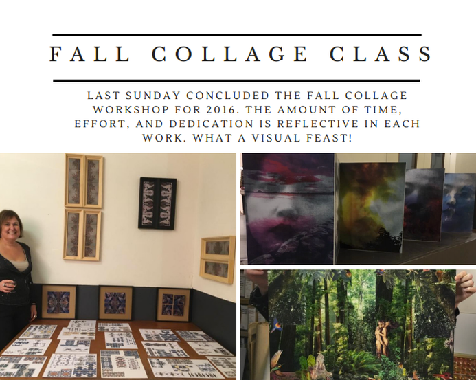 Final Exhibition Collage Workshop