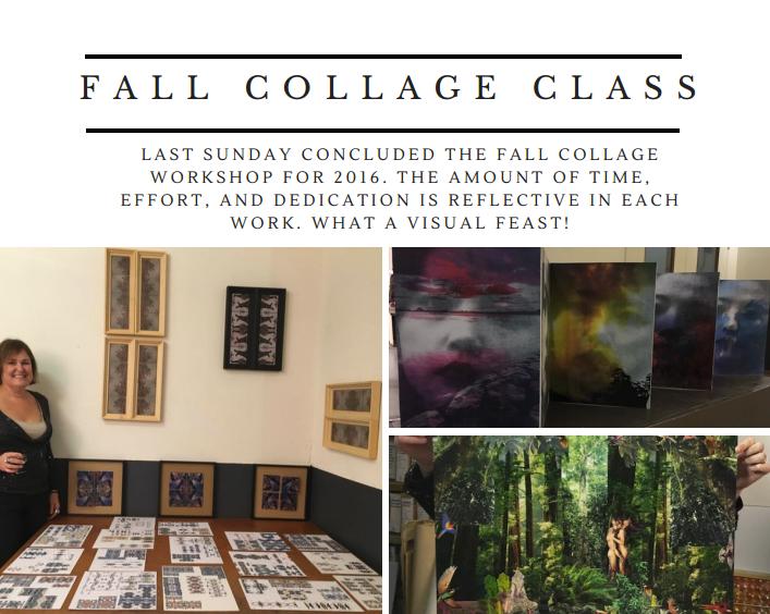 Final Exhibition Collage Workshop