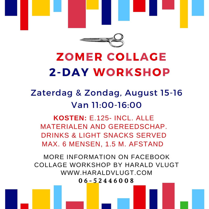 Zomer Workshop, August 15-16