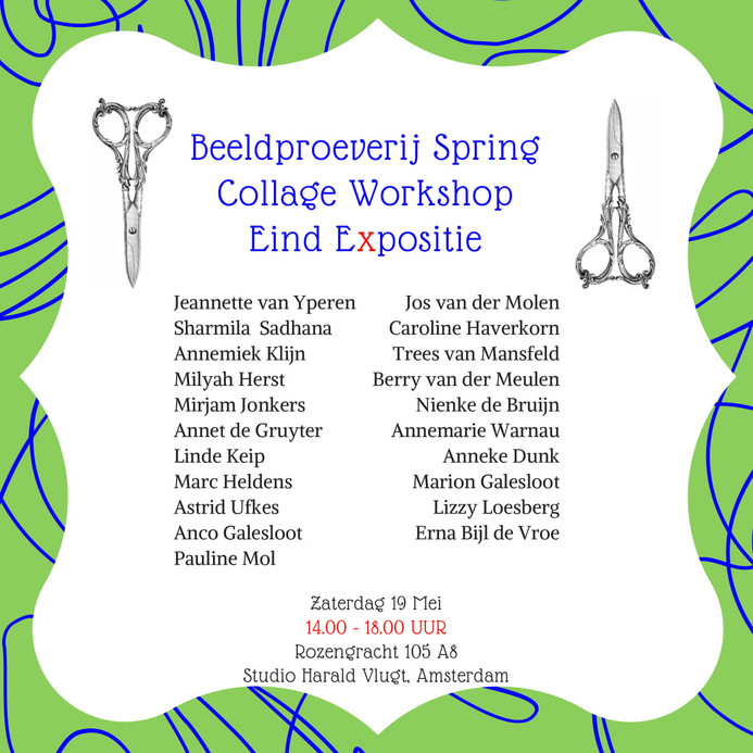Spring Eind Expositie, 19 May