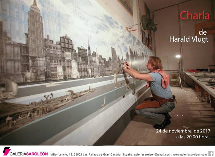 Artist Talk in Galería Saro León