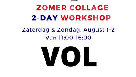 Zomer Workshop August 1-2- VOL