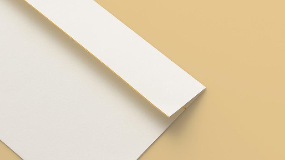 箔押し封筒
