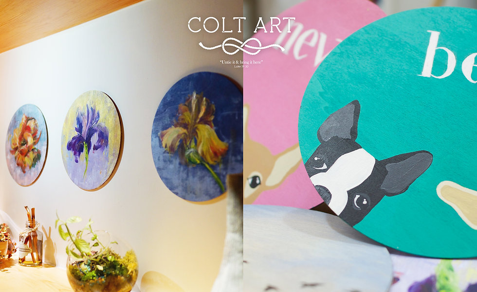colt art studio, colt art workshop