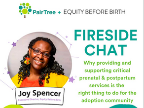 Equity Before Birth + PairTree: Working together to improve maternal and infant mortality rates