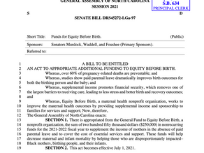 North Carolina SENATE BILL DRS45272-LGa-97