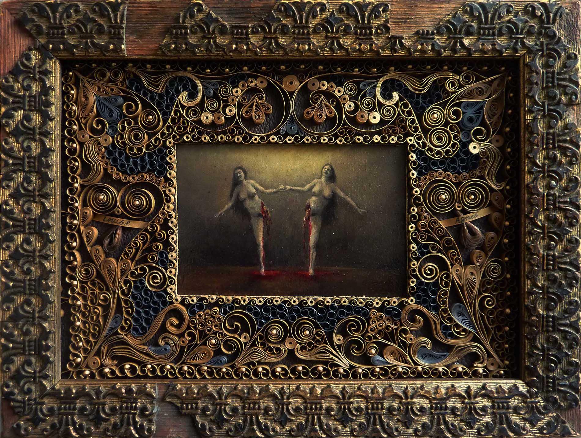 Serie_Reliquaires_Louise-Agnes - 2012 -