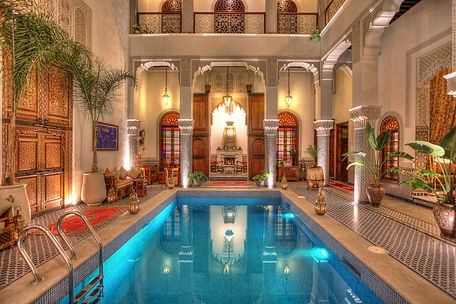 "alt=""Riad with Swimming Pool in Fes"""