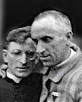L'abbé Lanier, retour des camps, 1er juin 1945