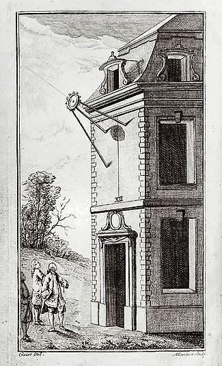 Mise à l'heure de montres à la méridienne (1760)