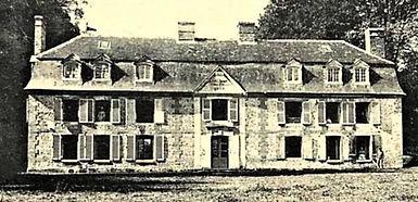 Le château du Pré-d'Auge, début du XXe siècle