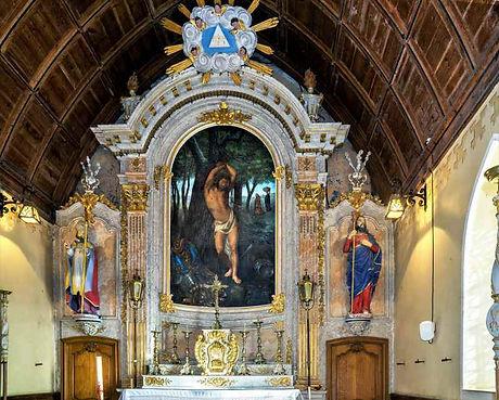 Eglise du Pré d'Auge, retable / ©  Photo mairie du Pré d'Auge