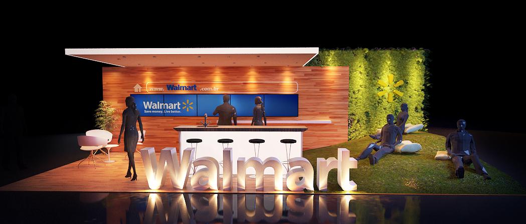 Estande Walmart