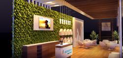 Estande Novartis 50 m²