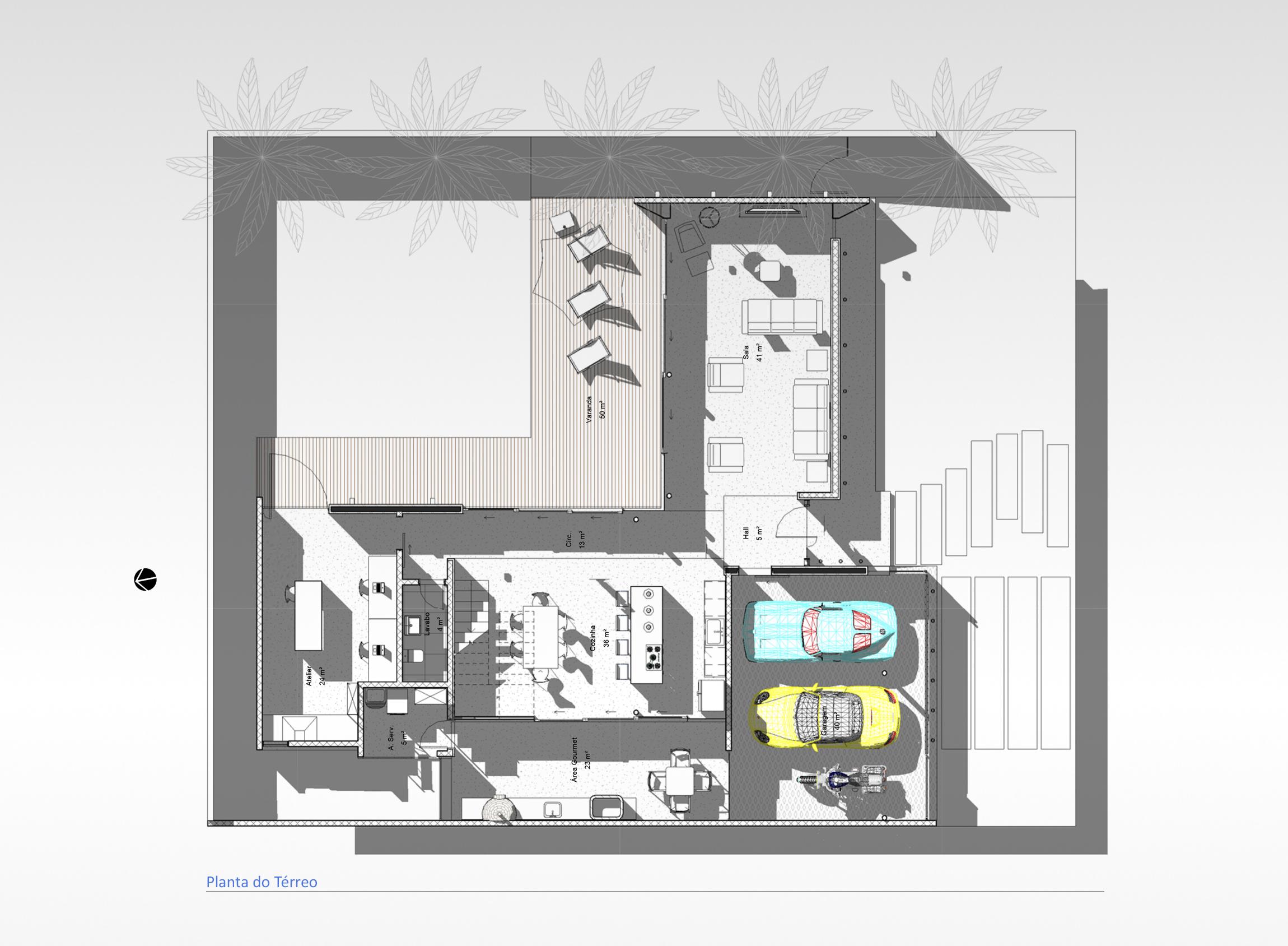 Casa Green Hills - Planta térreo