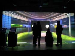 Estúdio Sapientia - tela interativa