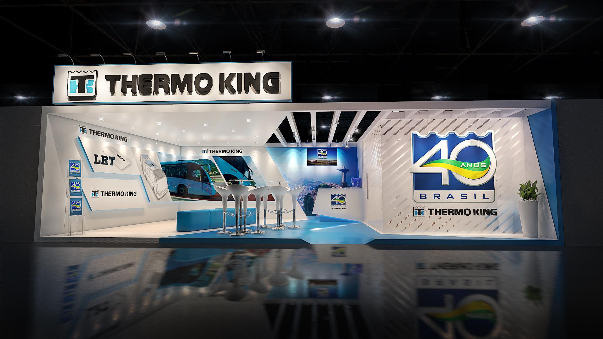 Estande Thermoking - Fetransrio