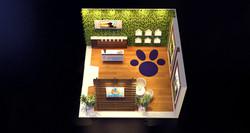 Estande Novartis 36 m²