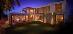 Casa Green Hills - Fachada Fundos