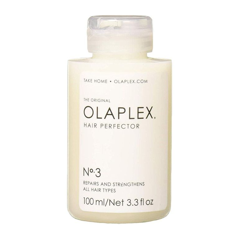 Olaplex Hair Perfector No. 3 Repairing Treatment amazon.com $120.00 SHOP NOW Olaplex's Hair Perfector Travel Kit is a salon-quality treatment you can do at home! It's a savior for damaged and color-treated hair that's in need of TLC. The formula works by relinking broken bonds, which transforms strands from dry and brittle to soft and shiny again.