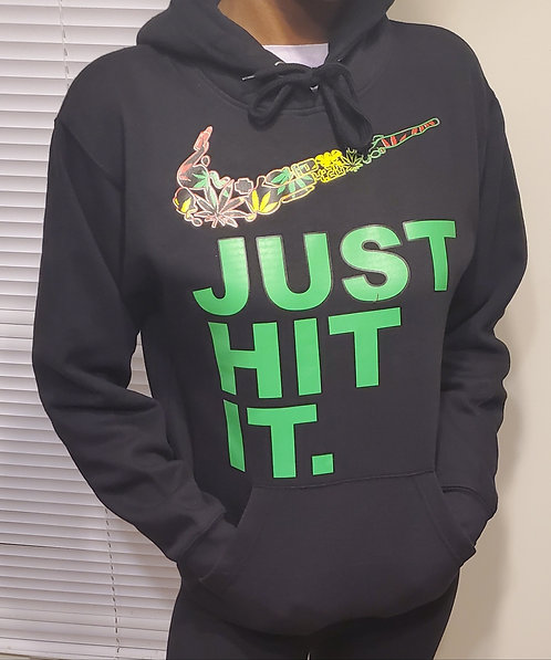 """Nike """"Just"""" Hooded Sweat Shirt - Shipping Included"""