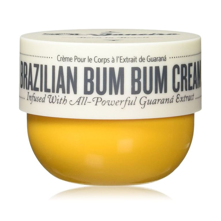 Sol De Janeiro Brazilian Bum Bum Cream amazon.com $45.00 SHOP NOW The name might say Bum Bum Cream, but this lotion smells so good, you'll want to put it on everywhere! We even like it as a hand cream. Along with hydration, it contains caffeine from guarana extract, which has a tightening effect on skin.