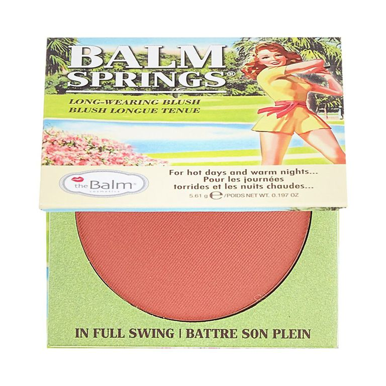theBalm Balm Springs Blush amazon.com $21 SHOP NOW This blush is one of the prettiest, most universally flattering shades we've ever tried. It blends like a dream and adds the perfect touch of color to your complexion.